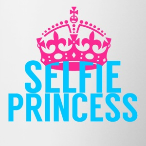 Selfie Princess - Contrast Coffee Mug