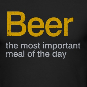 beer - Men's Long Sleeve T-Shirt by Next Level