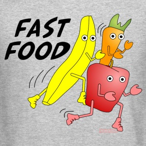 Fast Food Long Sleeve Shirts - Crewneck Sweatshirt