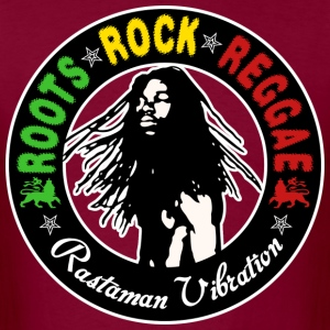 roots rock reggae rastaman vibration T-Shirts - Men's T-Shirt