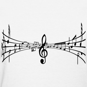 Music All Around - Women's T-Shirt
