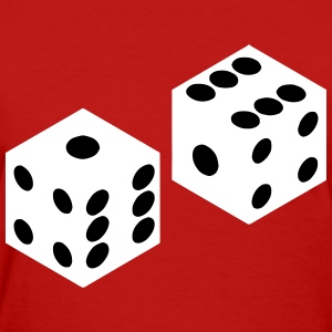 Pair of Dice Women's T-Shirts - Women's T-Shirt