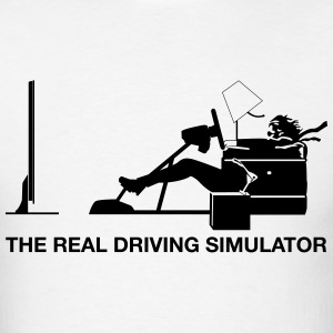 The Real Driving Simulator - Men's T-Shirt