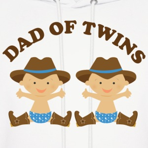 Dad Of Twins (boy babies) Hoodies - Men's Hoodie