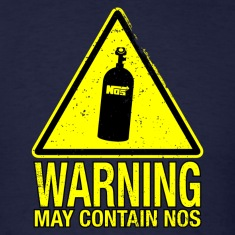 WARNING May Contain NOS T-Shirts