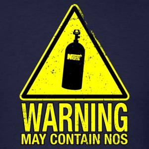WARNING May Contain NOS T-Shirts - Men's T-Shirt