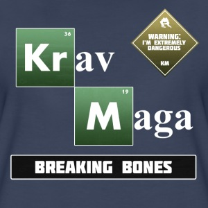 Krav Maga Elements - Breaking Bones - Women's Premium T-Shirt
