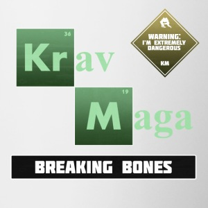 Krav Maga Elements - Breaking Bones - Contrast Coffee Mug