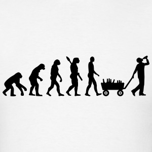 Evolution Alcohol T-Shirts - Men's T-Shirt