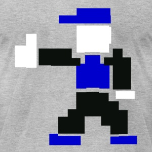 Thumbs Up Man! - Men's T-Shirt by American Apparel
