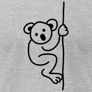 Koala Bear  T-Shirts - Men's T-Shirt by American Apparel