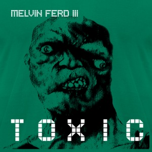 TOXIC - Men's T-Shirt by American Apparel