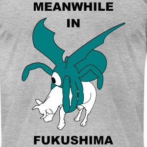 Meanwhile In Fukushima - Men's T-Shirt by American Apparel