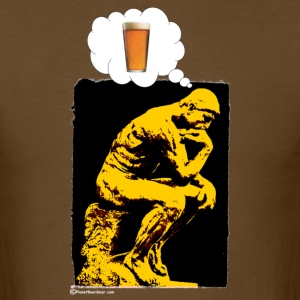 Thinking of Brew Men's T-Shirt - Men's T-Shirt