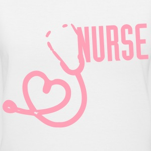 nurse Women's T-Shirts - Women's V-Neck T-Shirt