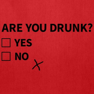 are you drunk Bags & backpacks - Tote Bag