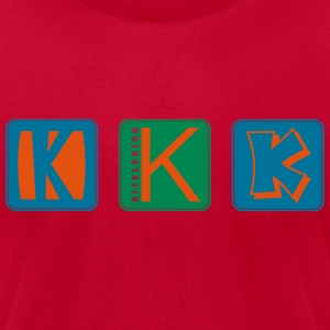 k_k_k_vec_3 us T-Shirts - Men's T-Shirt by American Apparel