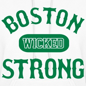 BOSTON WICKED STRONG - Women's Hoodie