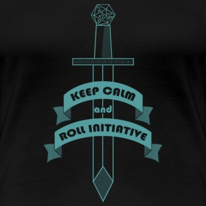 Roll Initiative Women's T-Shirts - Women's Premium T-Shirt