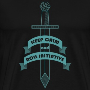 Roll Initiative T-Shirts - Men's Premium T-Shirt