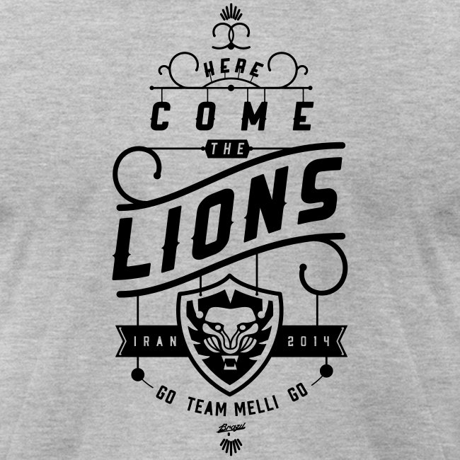 Lions Mens' Heather Tee