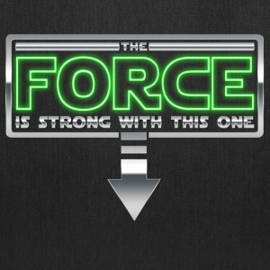 The Force is strong with this one 1A Bags & backpacks - Tote Bag