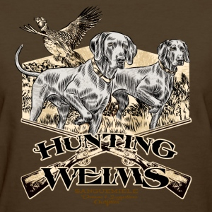 hunting_weims Women's T-Shirts - Women's T-Shirt