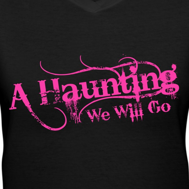 AHWWG Pink Logo Front