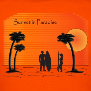 Sunset in Paradise - Men's T-Shirt