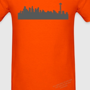 Seattle Skyline T-Shirts - Men's T-Shirt