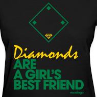 Design ~ Diamonds (black) - Women's Tee
