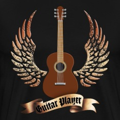 acoustic_guitars_and_wings_052014_a T-Shirts