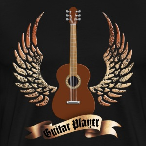 acoustic_guitars_and_wings_052014_a T-Shirts - Men's Premium T-Shirt