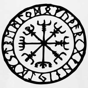 Viking Vegvisir - Men's T-Shirt by American Apparel
