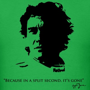 Ayrton Senna Quote Shirt - Men's T-Shirt