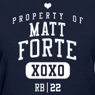 Design ~ PROPERTY OF Matt Forte (RB #22) XOXO