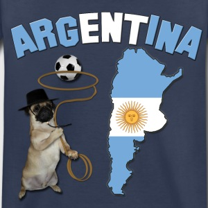 Argentina Football World Cup Pug Baby & Toddler Shirts - Toddler Premium T-Shirt