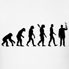 Evolution Chemist T-Shirts