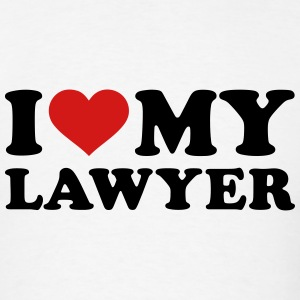 I love my Lawyer T-Shirts - Men's T-Shirt