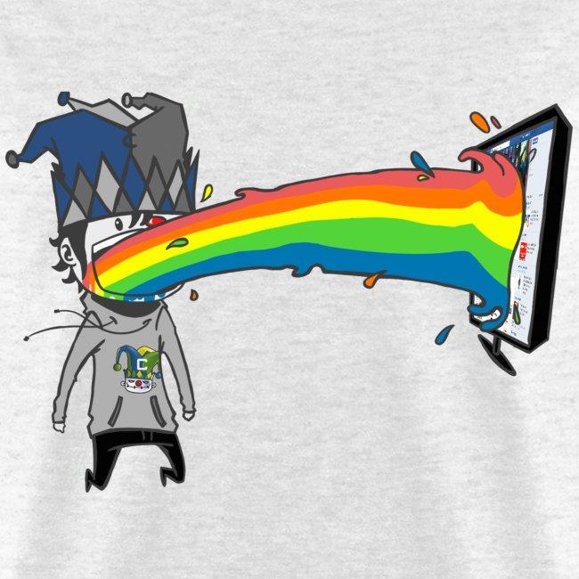 Rainbow Clown T-Shirt