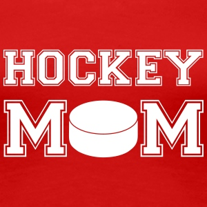 hockey_mom Women's T-Shirts - Women's Premium T-Shirt