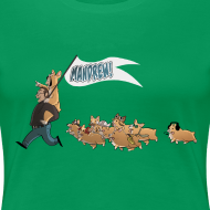 Design ~ Women's Tee: The Mandrew March!
