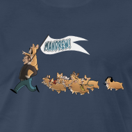 Design ~ Men's Tee: The Mandrew March!
