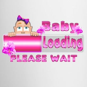 Peek A Boo Baby Girl Loading mini 3 Bottles & Mugs - Coffee/Tea Mug