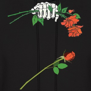 Dropping a Rose - Men's Hoodie