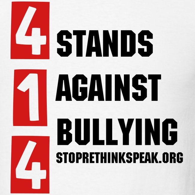 414 Stands Against Bullying