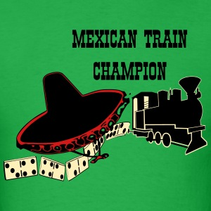 Mexican Train 1 T-Shirts - Men's T-Shirt