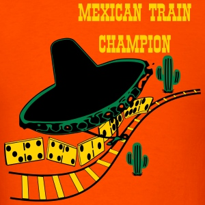 Mexican Train 2 T-Shirts - Men's T-Shirt
