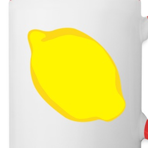 Lemon - Contrast Coffee Mug