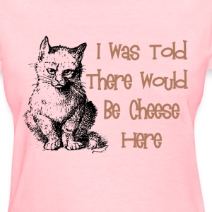 Cat & Cheese Women's T-Shirts - Women's T-Shirt